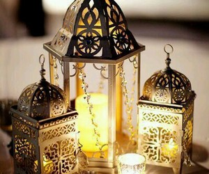 lanterns, lights, and رَمَضَان image