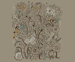 bloom, threadless, and illustration image