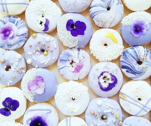 donuts, sweets, and pastel image
