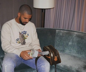 Drake and money image