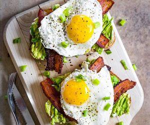avocado, breakfast, and Chicken image