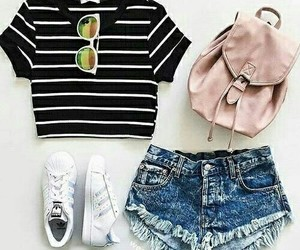 casual, summer outfit, and clothes image