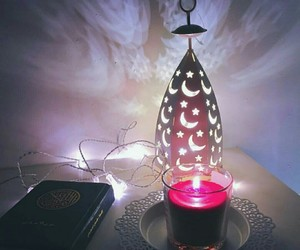 candle, القرآن, and الفانوس image