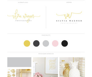 etsy, branding package, and small business logo image
