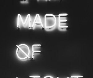 light, quote, and black image