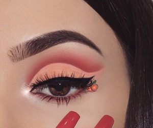 makeup, aesthetic, and eyebrows image