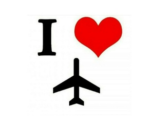 aviation, ❤, and love image