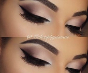 classy, make up, and eyes image