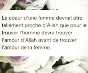 lové, amour, and islam image