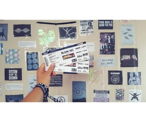 bands, blink182, and concert image