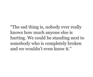 quotes, broken, and hurt image