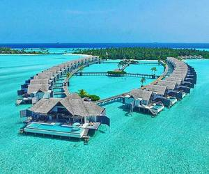 chill, Maldives, and ocean image