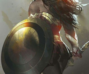 DC and wonder woman image