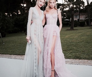 elsa hosk, martha hunt, and fashion image