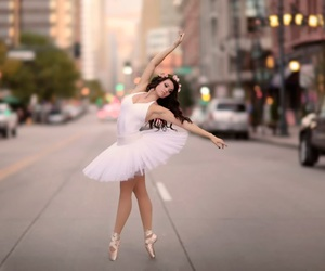 ballet, girl, and street image
