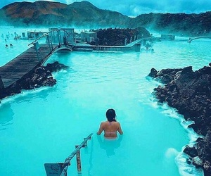 beautiful, travel, and blue image
