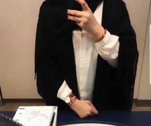 fashion, hijab, and muslima image