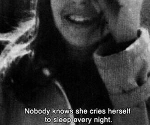 nobody, sleep, and cries image
