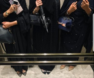 hijab, friends, and sisters image