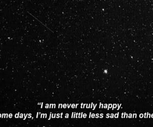 sad, quotes, and stars image