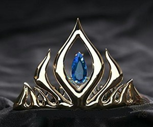 crown, frozen, and Queen image