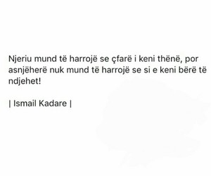 ismail kadare, fjale, and thenje image