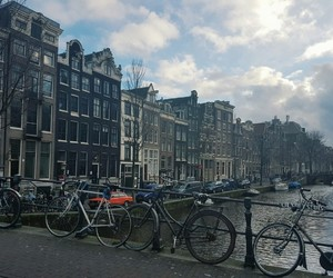 amsterdam, city, and dutch image