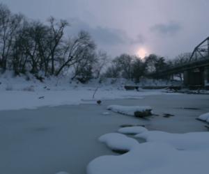 Ben Affleck, Olga Kurylenko, and film still image