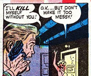 comic, kill, and funny image