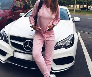 cool, girl, and pink image