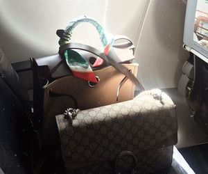 air plane, purse, and gorgeous image