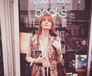 florence welch, books, and florence and the machine image