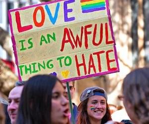 feminism, lgbt, and gay pride image