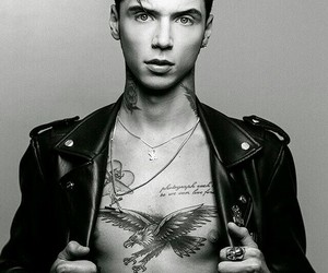 andy biersack, andy black, and boy image