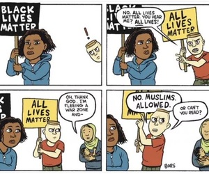 abortion, all lives matter, and feminism image