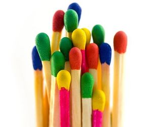 colors, colorful, and match image