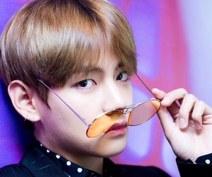 v, bts, and kpop image