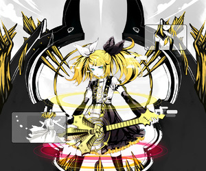 kagamine rin, vocaloid, and meltdown image