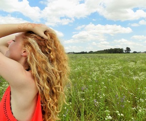 clouds, flowers, and Modeling image