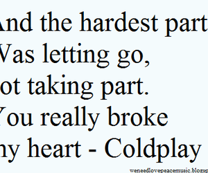 and, broke, and coldplay image