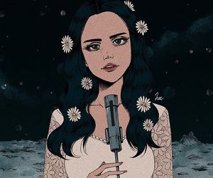lana del rey, art, and music image