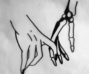 art, hands, and draw image