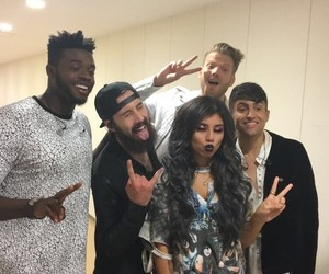 pentatonix, scott hoying, and mitch grassi image