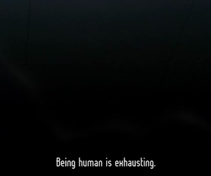 human, text, and quote image