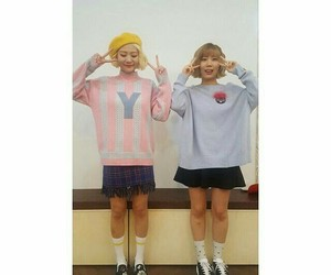 korean girls, ji young, and korean artist image