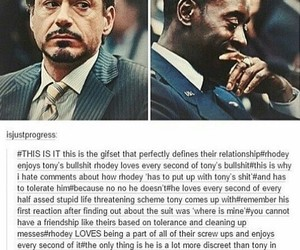 friendship, post, and iron+man image