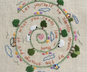 diy, embroidery, and sewing image