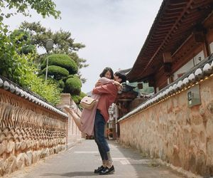 couple, dating, and korean image