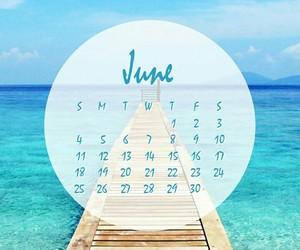 agenda, background, and beach image