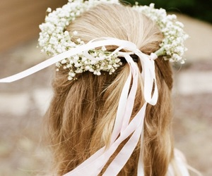 flower crown and lily of the valley image